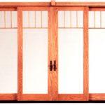 wood door cover